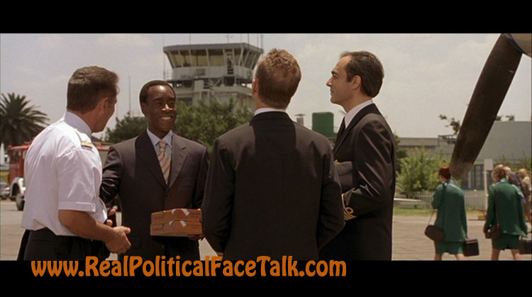 Hotel Rwanda DVD Review - Real Political Face Talk